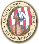 Badge Gaupfila 2003